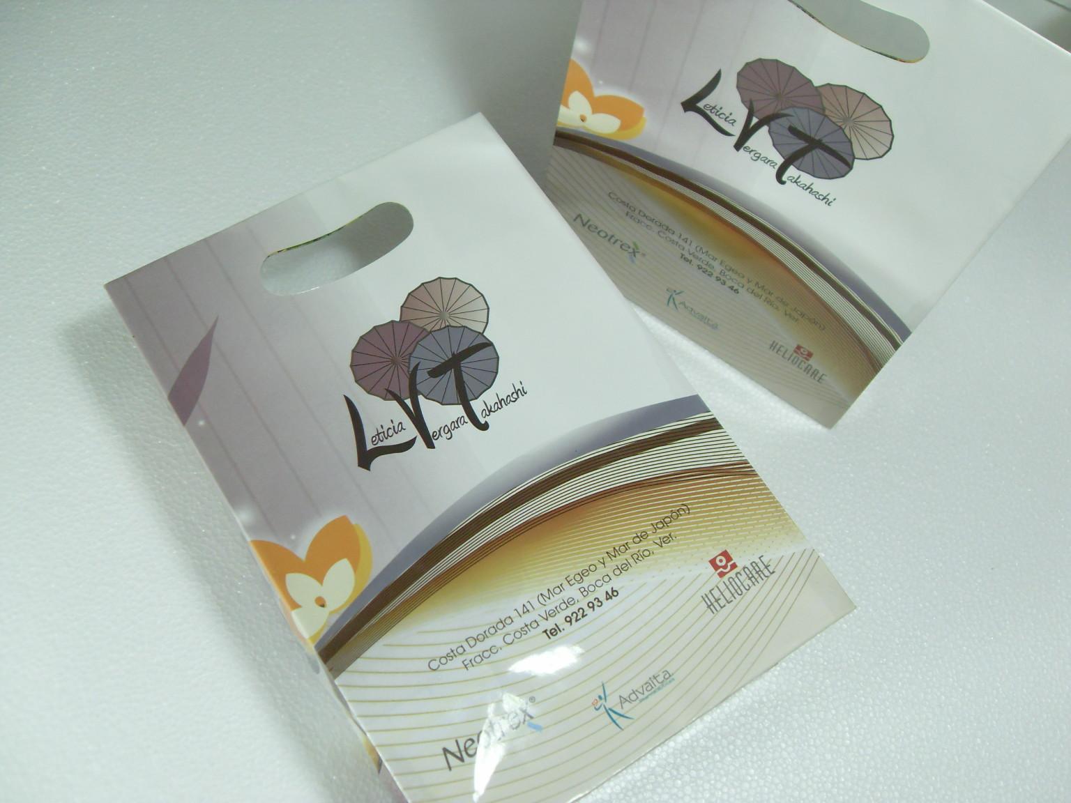 Bolsas con diseño impreso