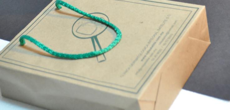 Bolsas papel kraft impresas